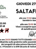 SALTAFESTA! Giovedì 27 Aprile – Saltafossi – Associazione Culturale Merzbau