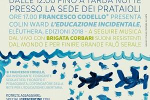 """SABATO 30/06/18 – Colin Ward """"L'educazione incidentale"""""""
