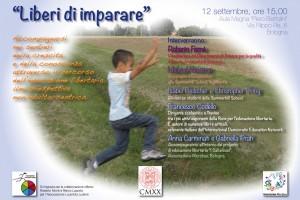Liberi di Imparare –  incontro a Bologna il 12 settembre