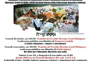21/10 – 16/12/2016 – VASO, CRETA O FIORE? – BLAB (Biblioteca Libertaria Armando Borghi) Castelbolognese (RA)