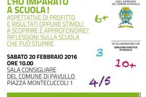 "Associazione Culturale ""I Prataioli"" – Pavullo, 20 Febbraio 2016"