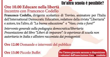 Sabato 17 dicembre Rimini incontro sulla pedagogia libertaria